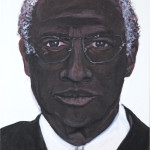 Sonja Kandels paintings Franz Beckenbauer