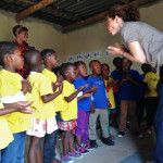 Sonja Kandels workshop african childrens choir 8