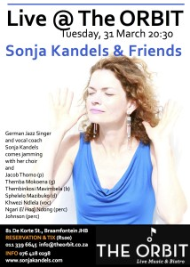 Sonja Kandels The Orbit Johannesburg