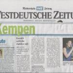 Sonja Kandels Band_Westdeutsche Zeitung_Aug2012