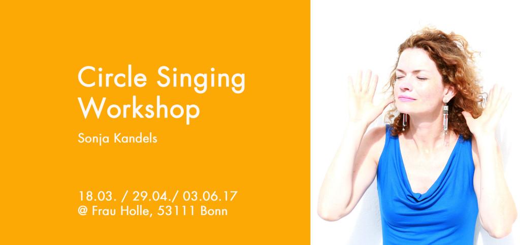 Sonja Kandels singing 2 Front